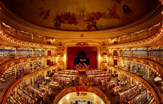El Ateneo, Buenos Aires: a giant bookshop in a former theatre and cinema