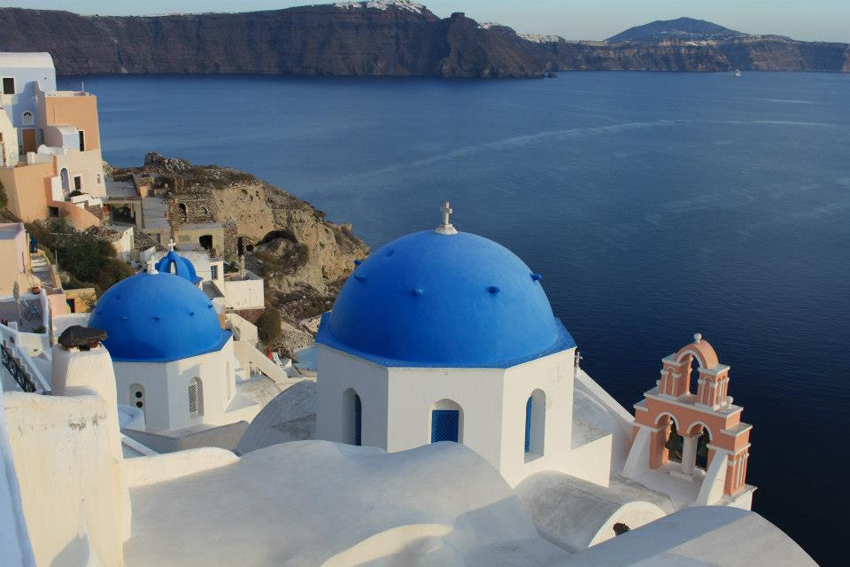 An unexpected addition to Santorini's many charms...