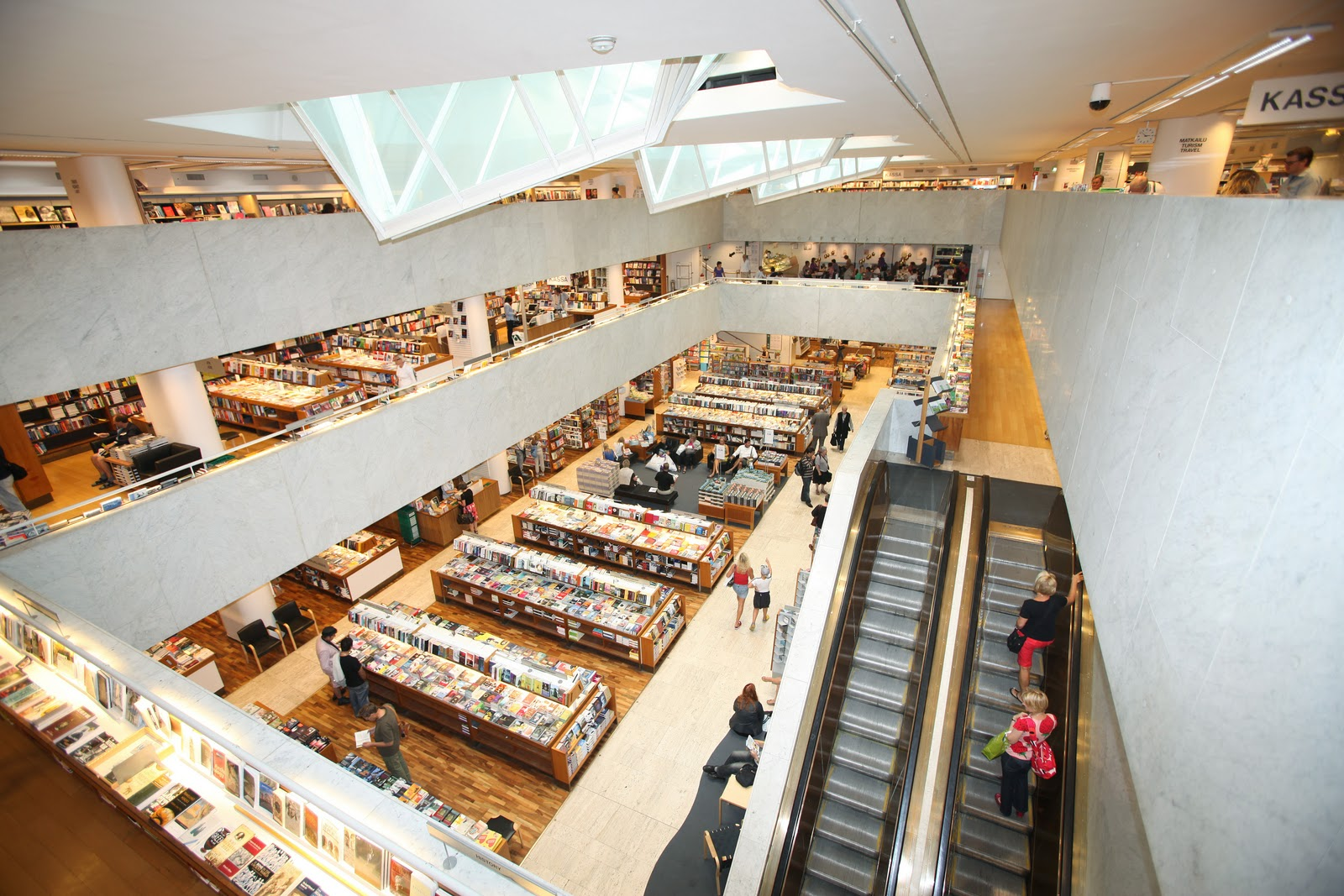 The Academic Bookstore, Helsinki: showcasing Scandinavian architecture