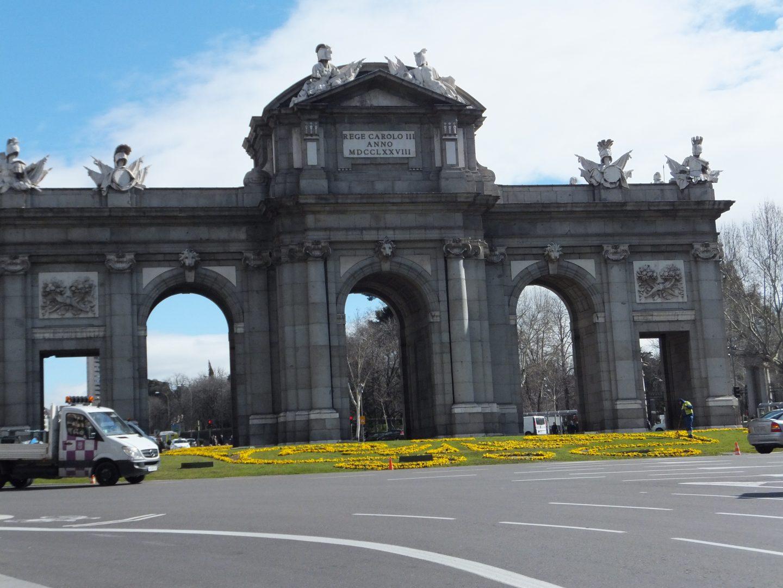 Madrid Alcala gates