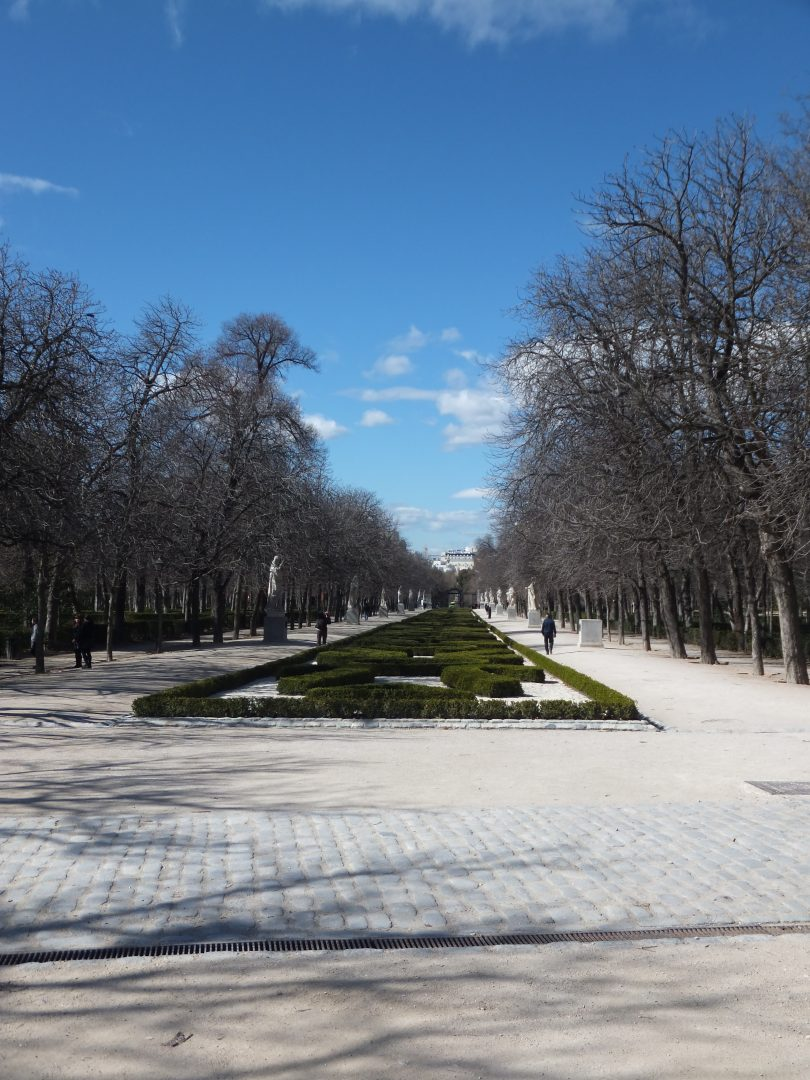 Madrid Parque del Buen Retiro Paseo