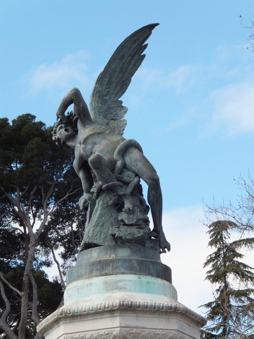 Madrid El Angel Caido