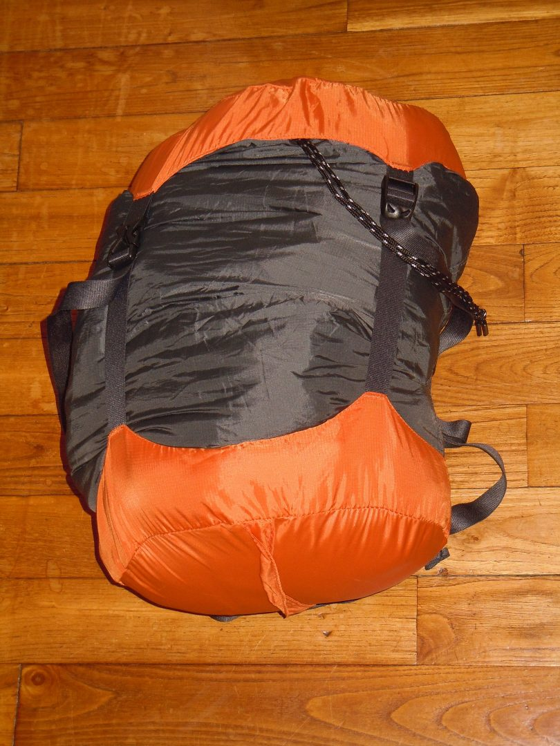 RTW packing list compression sack