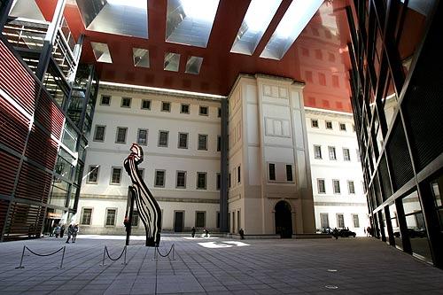 Reina Sofia Museo Nouvel building