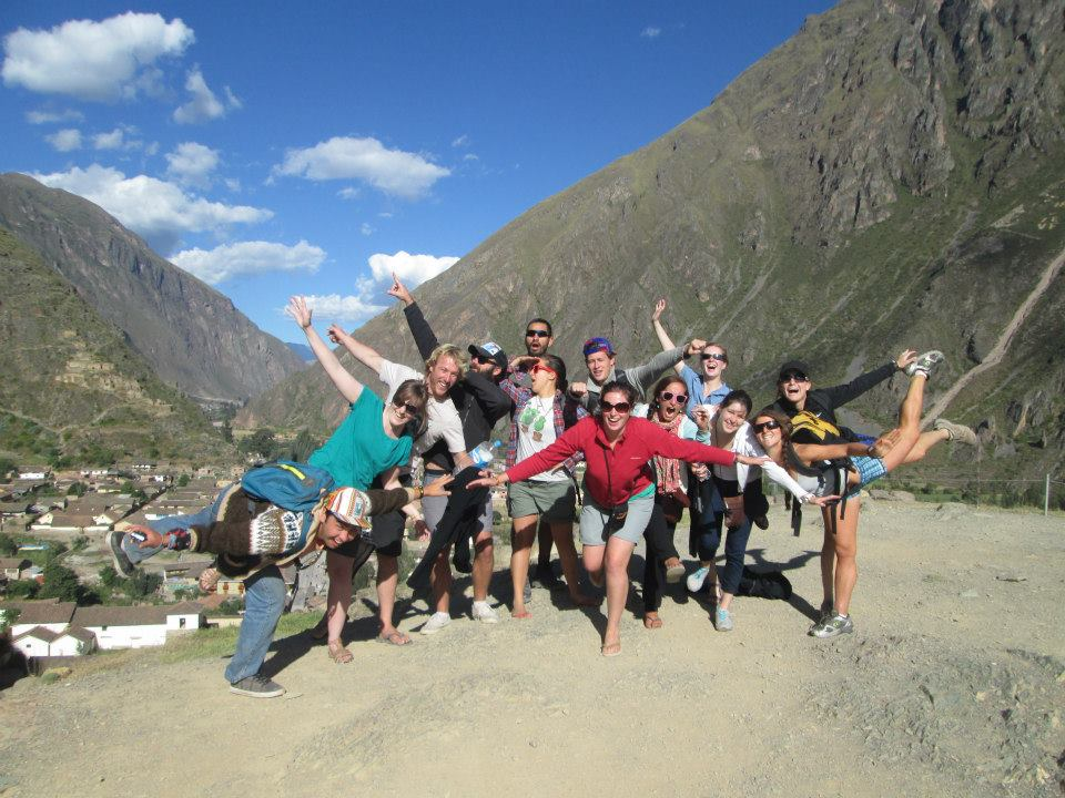 Tucan Travel group on Inca Trail
