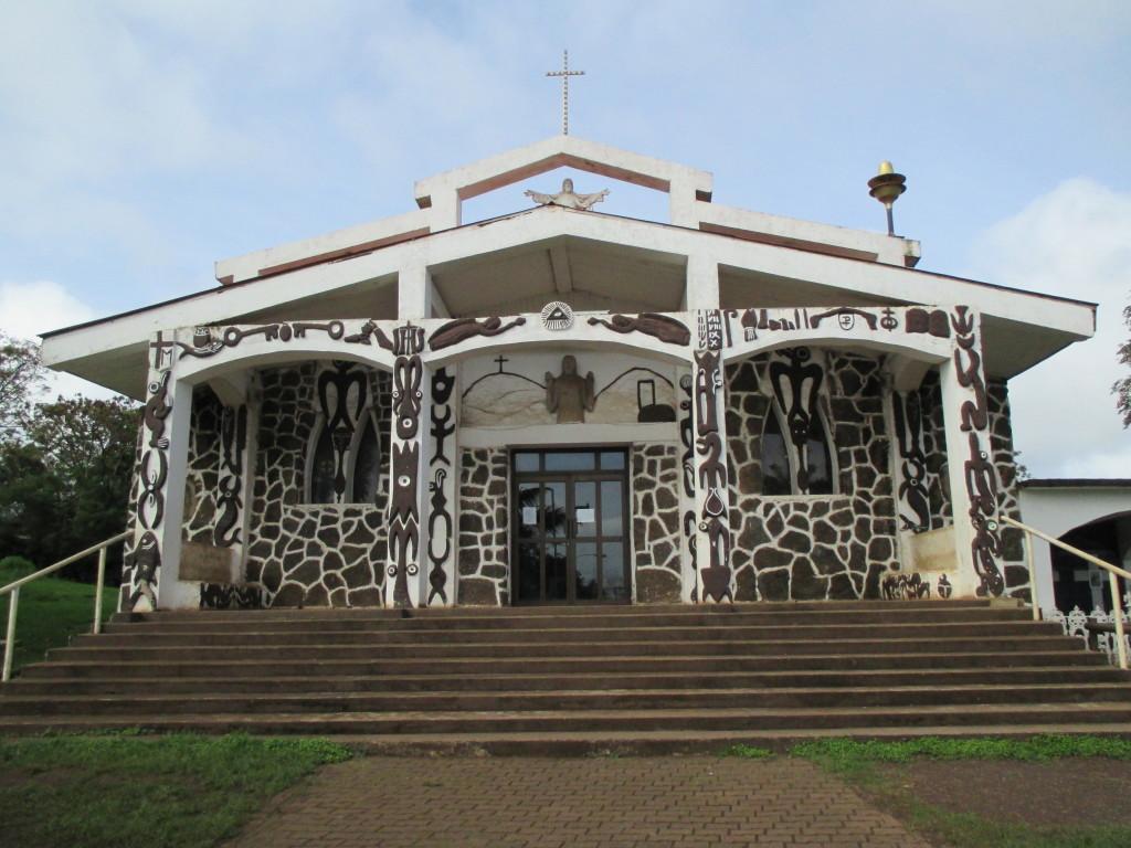 Hanga Roa church, Rapa Nui