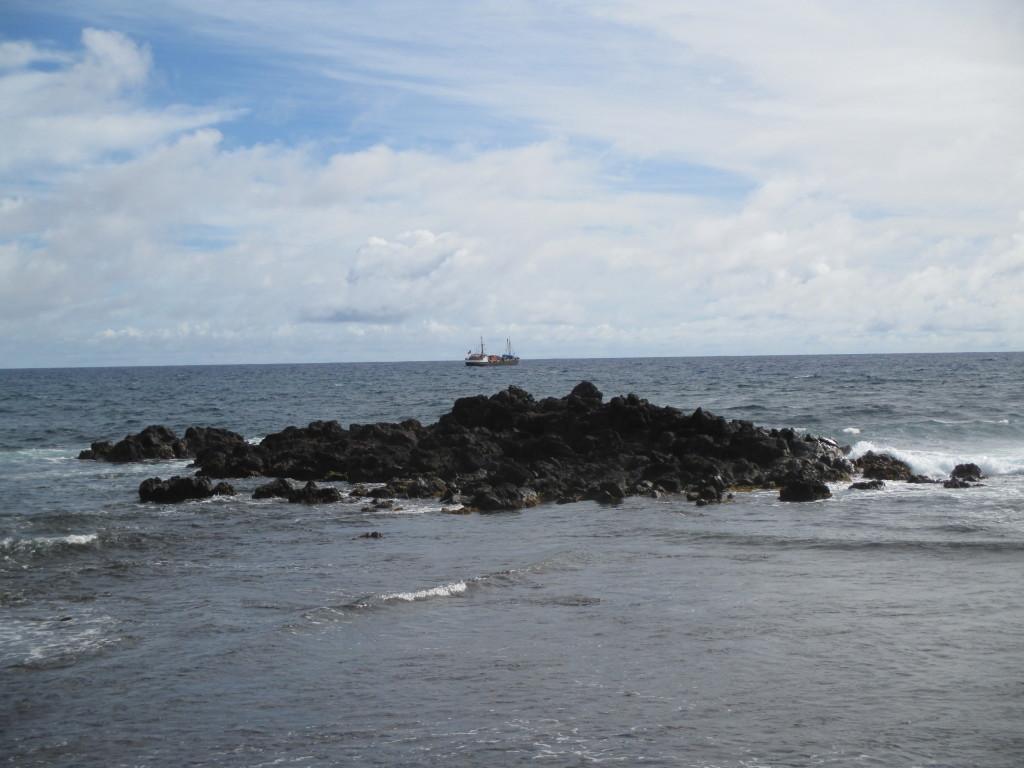 Rapa Nui seascape