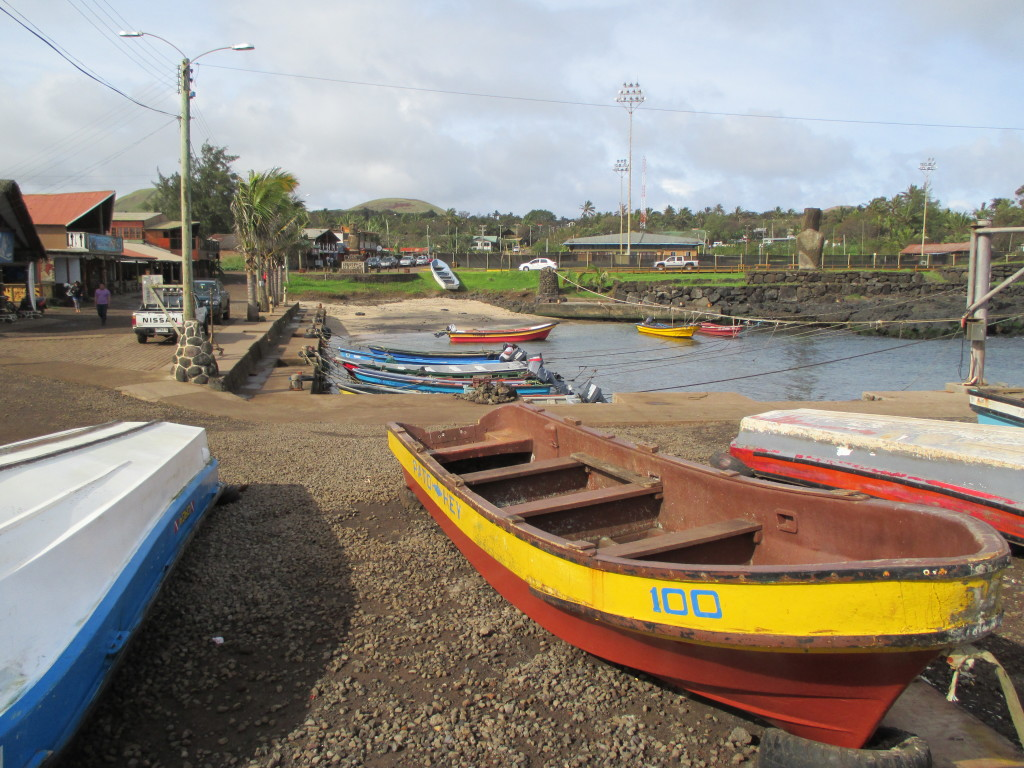 Hanga Roa Bay, Easter Island