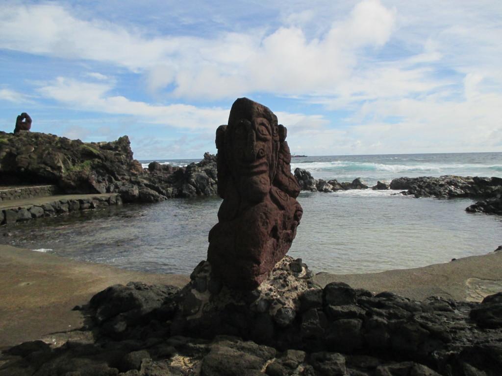 Easter Island weird moai
