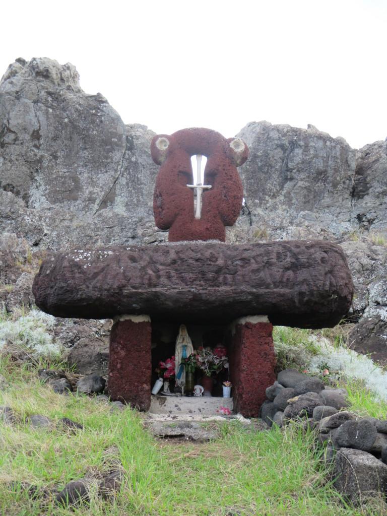Rapa Nui shrine
