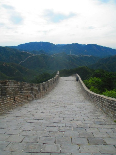 Great Wall of China horizon