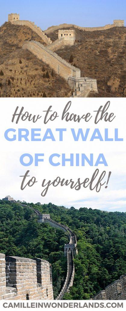 great-wall-of-china-at-badaling Pinterest pin