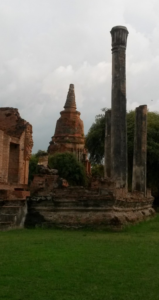 Wat Ratchaburana temple, Ayutthaya, Thailand