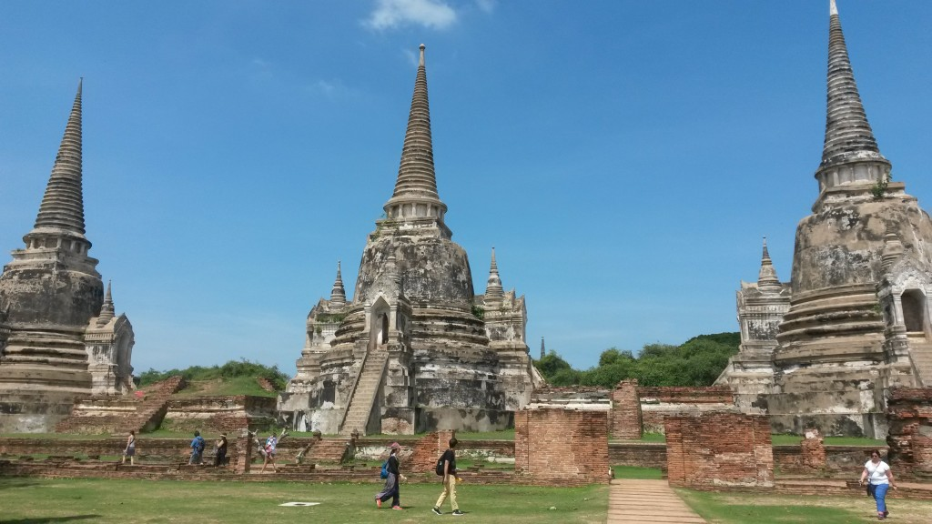 Wat Sri Sanphet towers, Ayutthaya, Thailand