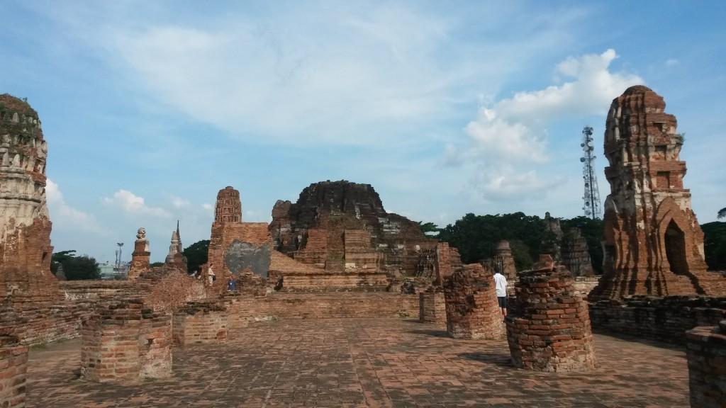 Wat Mahathat temple, Ayutthaya, Thailand