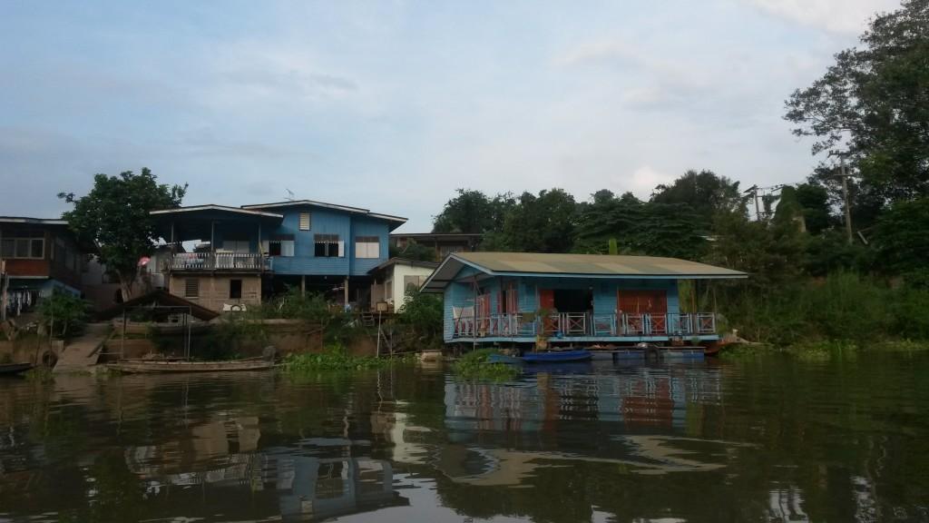 River cottages, Ayutthaya, Thailand