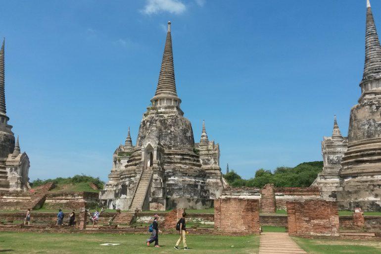 visit Ayutthaya Thailand kingdom temples