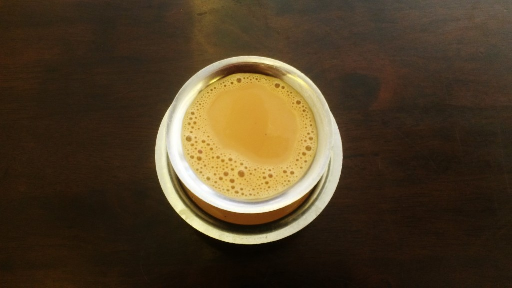 Masala chai in Indian restaurant in Malaysia
