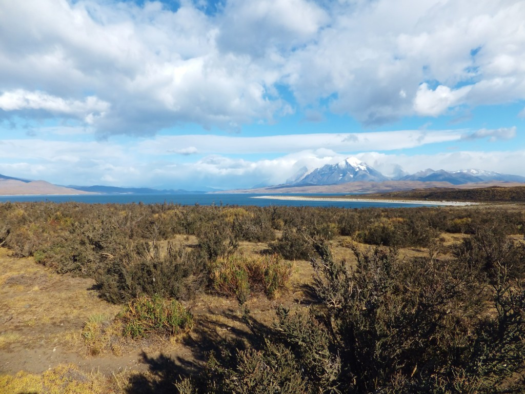 Chile's Torres del Paine National Park panorama