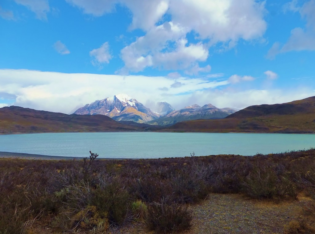 Laguna Amarga at Torres del Paine National Park, Chile