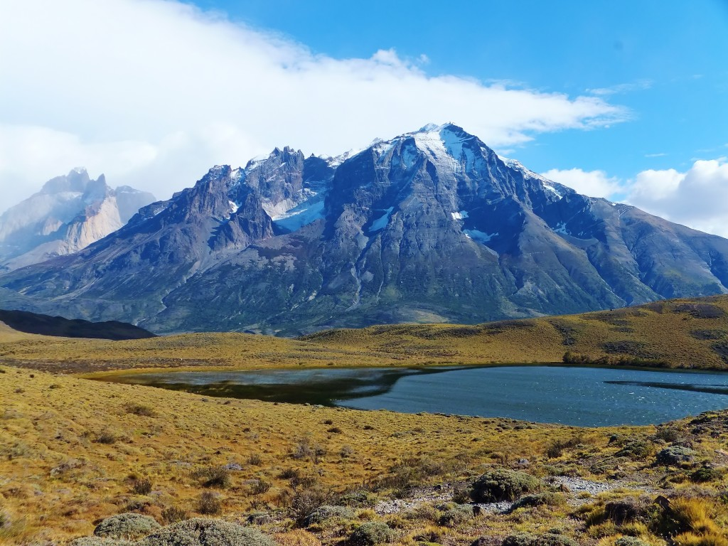Torres del Paine peaks and lakes