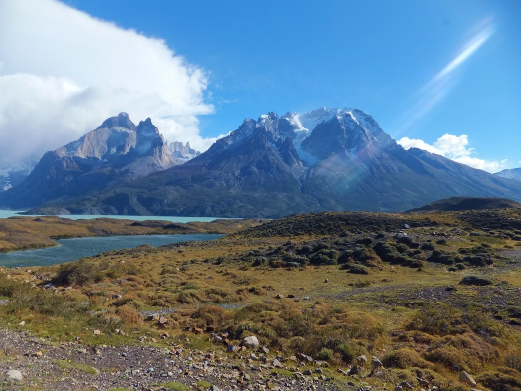 Torres del Paine National Park panoramic view