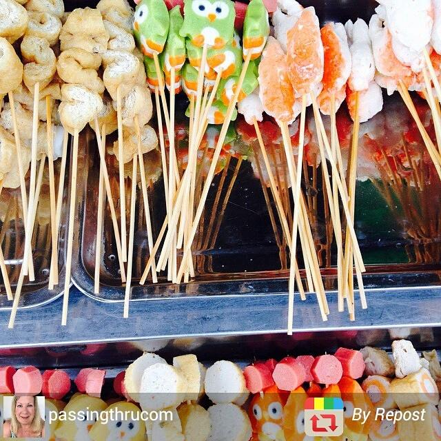 Street food in Kuantan, Malaysia