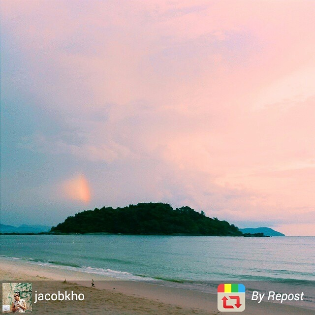 Langkawi Malaysia beach sunset