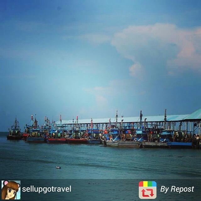 Penang boat pier, Mlaysia