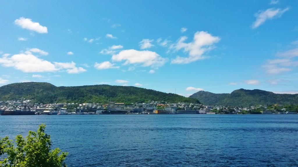 Bergen sea view