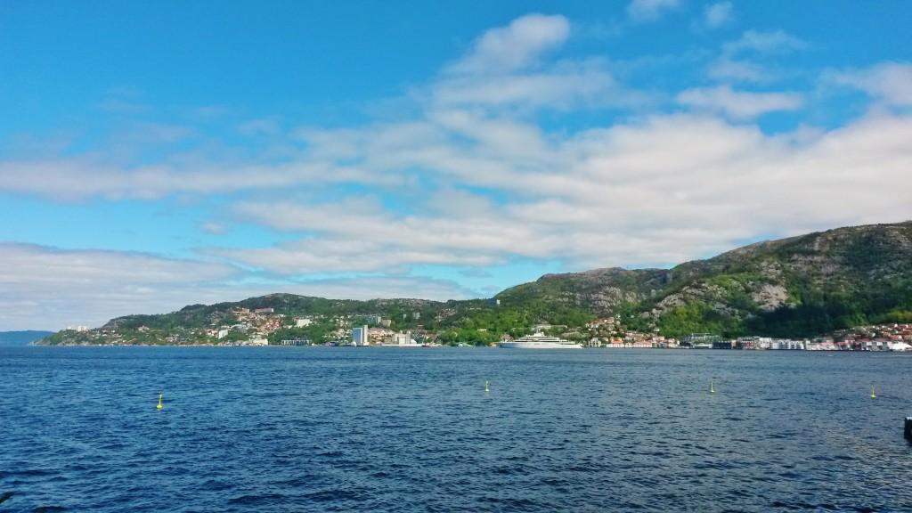 The Bergen coast