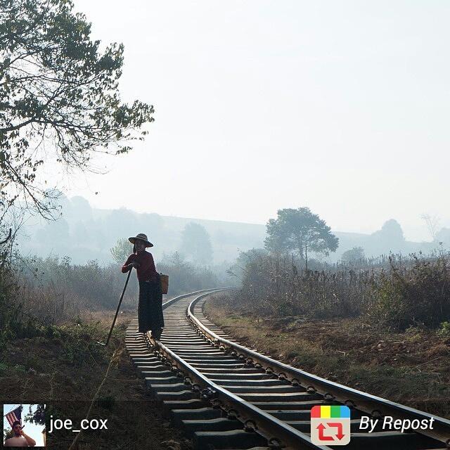 Myanmar rural encounter during trek