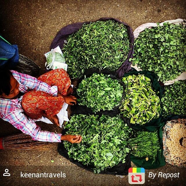 Myanmar Mandalay market scene