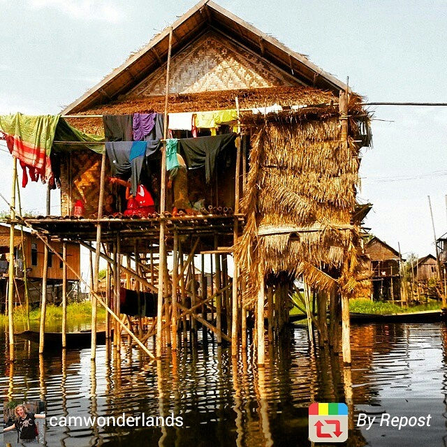 Inle Lake home, Myanmar