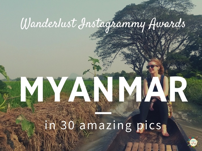 Instagram travel photography competition Myanmar cover