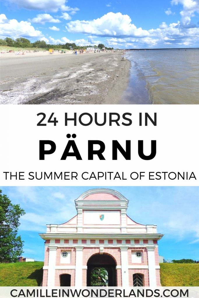 Pärnu Estonia summer beach resort