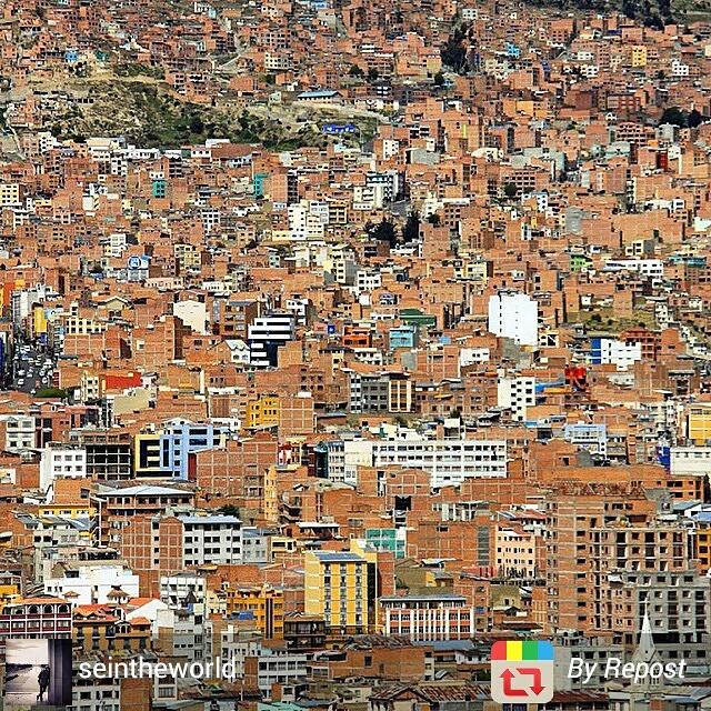 La Paz skyline, Bolivia