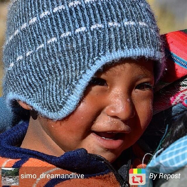 Happy Bolivian child, Bolivia