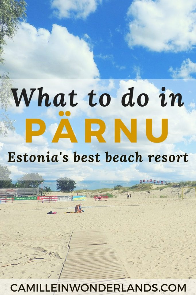 ärnu Estonia Beach Travel Guide Pinterest pin