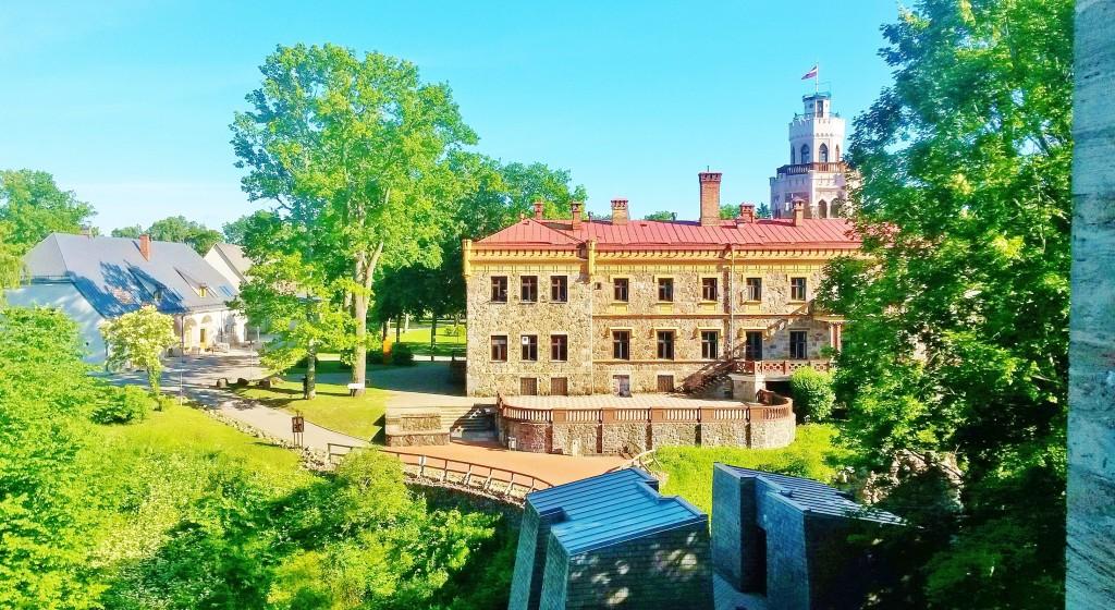 Sigulda castles, Latvia