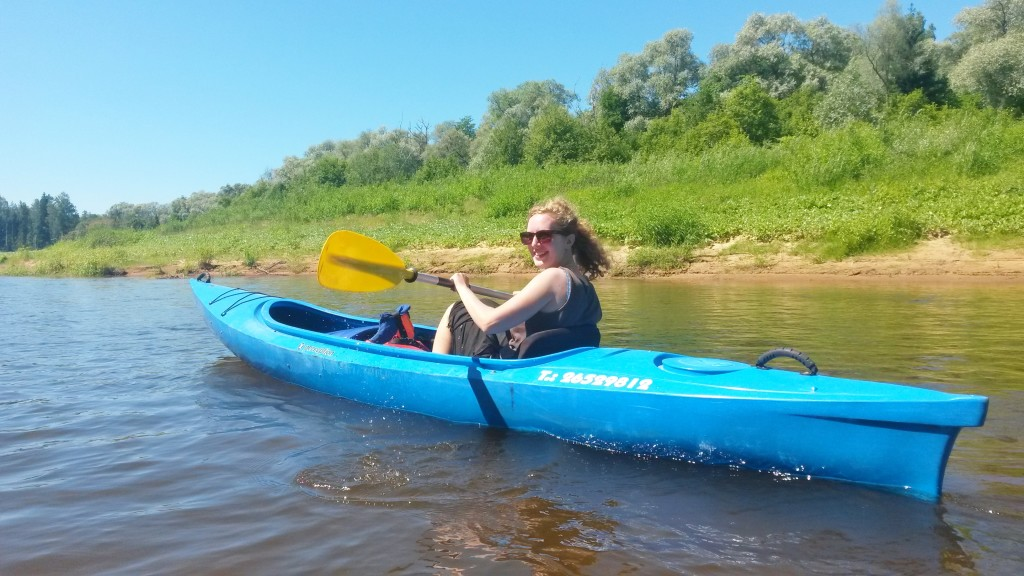 Kayaking from Ligatne to Sigulda, Latvia
