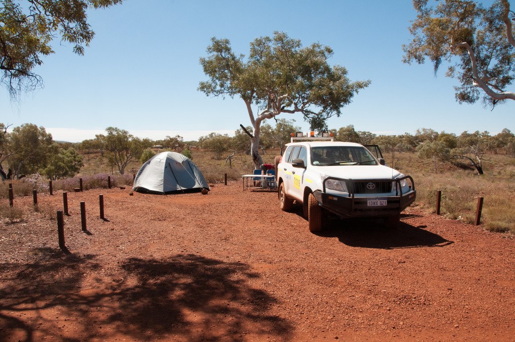 Camping in Western Australia - Picture by Graeme Churchard via Flickr