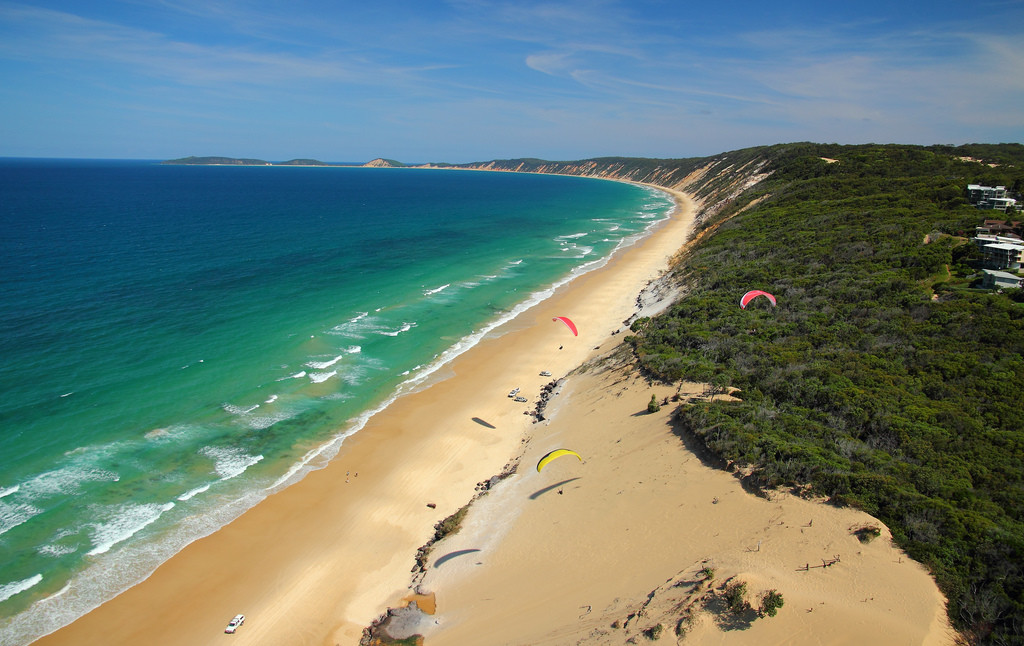 Rainbow Beach, Queensland - Picture by texaus1 via Flickr