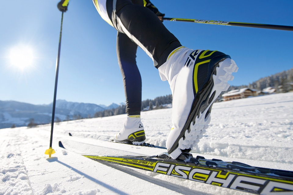 Cross-country skiing - via Pixabay