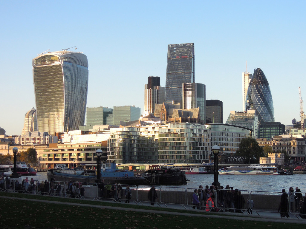 View of London skyline over the Thames - Image by John Nuttall via Flickr