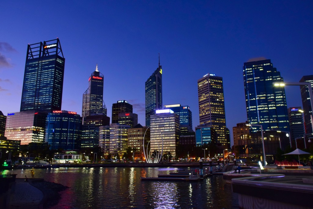 Perth skyline - Photo via Pixabay