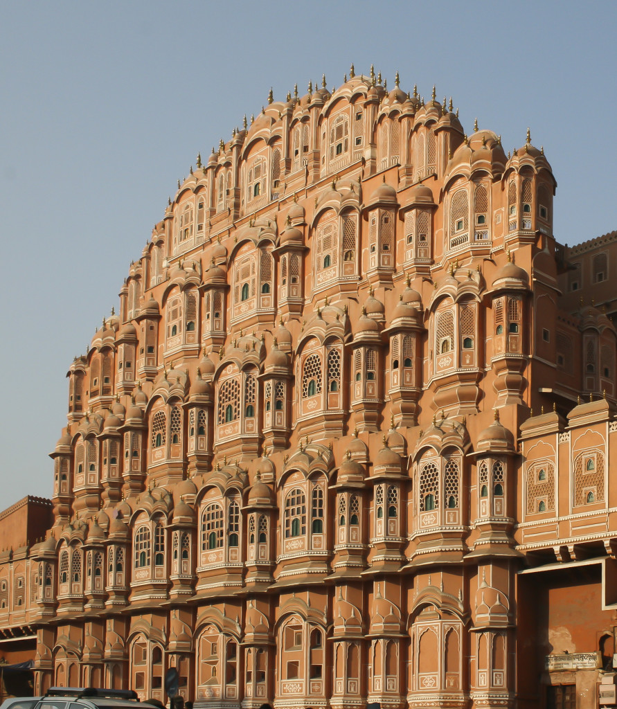 "Hawa Mahal, the ""Palace of Winds"" in Jaipur - Image by Diego Delso via Wikipedia"
