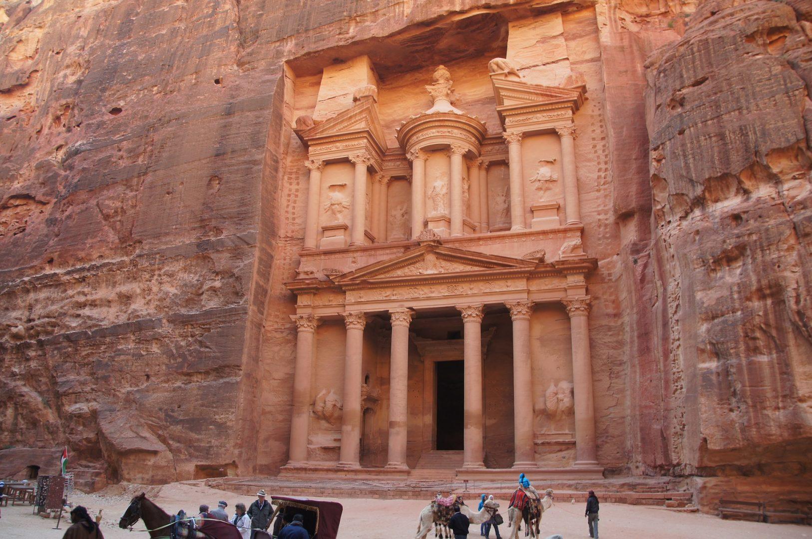 The wonders of Petra