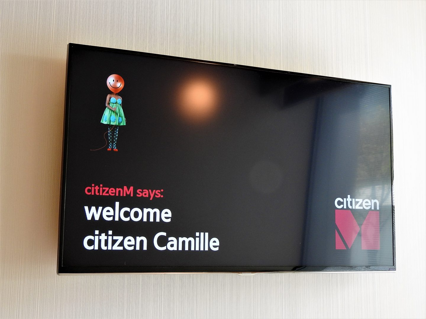 camille welcome citizenm amsterdam