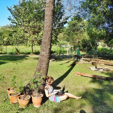 greendesking working outdoors nature